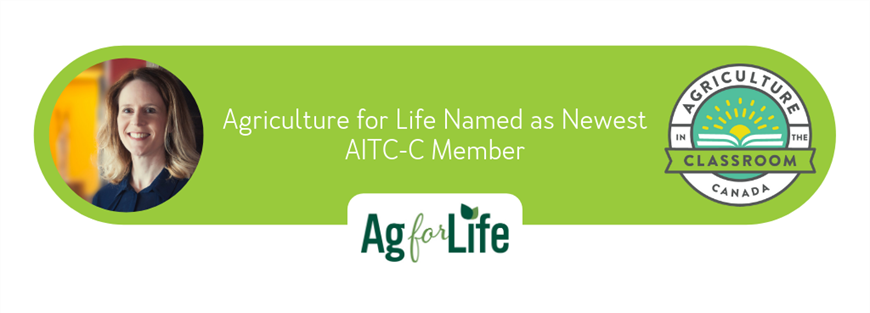 Alberta's Agriculture for Life Named as Newest AITC-C Member